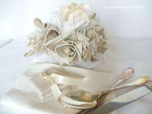 centre de table floral mariage shabby chic 8