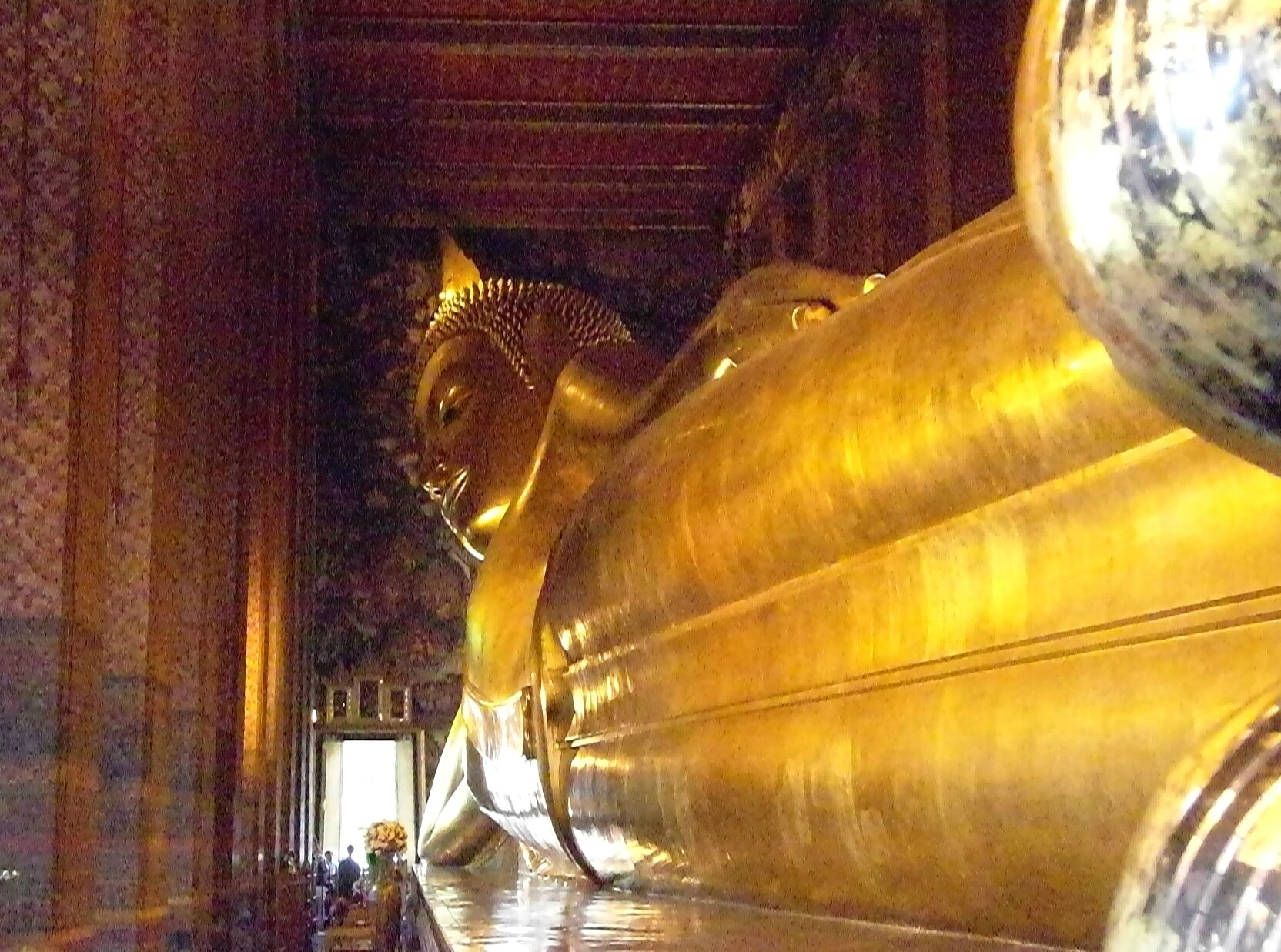 BANGKOK_bouddha couché en long
