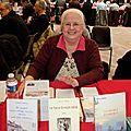 Une auteur qui semble heureuse d'être à Woippy !
