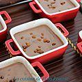 Les petits pots de crème au nutella d'alban