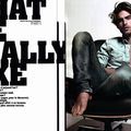 Editorial: 'what we really like' by milan vukmirovic for l'officiel hommes #18 winter/spring 2009-2010