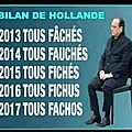 ps hollande humour grosse merde molle hollande enarque