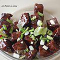Recette japonaise: boeuf sauce à la prune