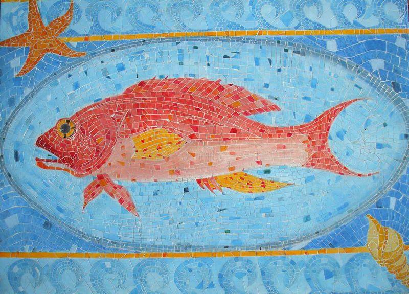 mosaique poisson