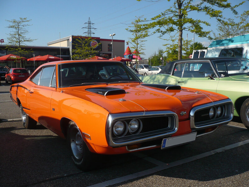 DODGE Coronet Super Bee 383 Magnum Offenbourg (1)