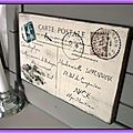 Carte postale géante