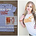 T Shirt&Bracelet Association-Orange You Happy To Erase MS