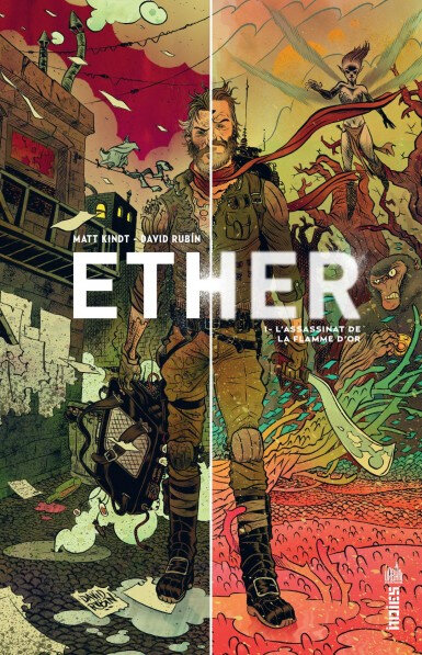 urban indies ether 01 l'assassinat de la flamme d'or