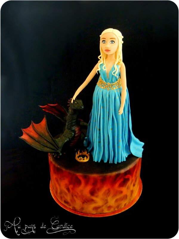 "Gâteau ""Game of Thrones"" (Le trône de fer)"