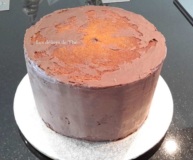 Layer cake tout chocolat Mariage 06 05 17 (1)