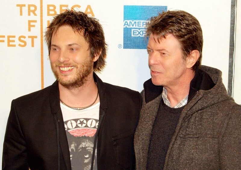 Duncan Jones et son père David Bowie (au civil Jones)