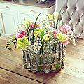 Petit vase inspiré par le vase d'avril de tsé-tsé