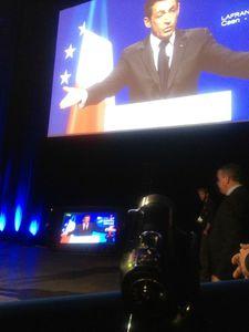 camescope avranches infos Nicolas Sarkozy Caen Zénith 2012 présidentielle