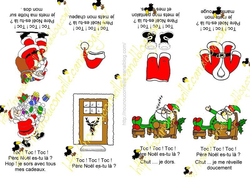 Petit livre Toc toc toc père Noël couleurs filigrammeP