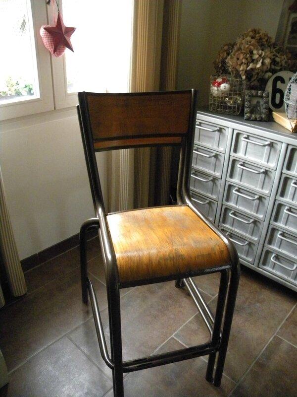 chaise école retapée 3