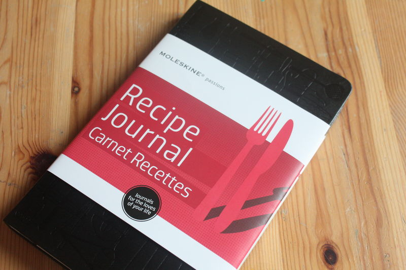 le carnet de recettes par moleskine chez requia cuisine et confidences. Black Bedroom Furniture Sets. Home Design Ideas