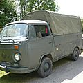 VOLKSWAGEN Combi type 2 pick-up baché 1975 Madine (1)