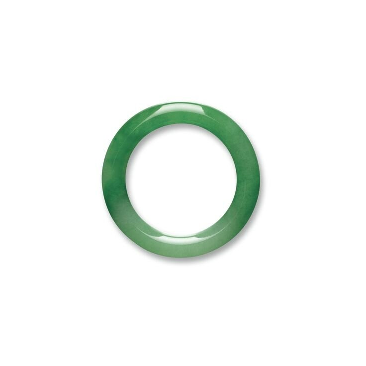 Fine and Important Jadeite Bangle1