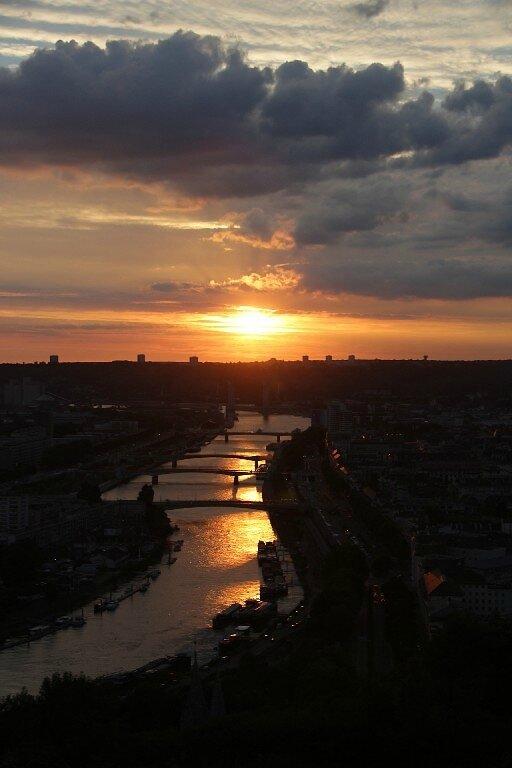 11-Rouen, coucher soleil_1903