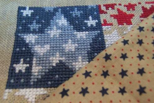 Flag of stars (2)