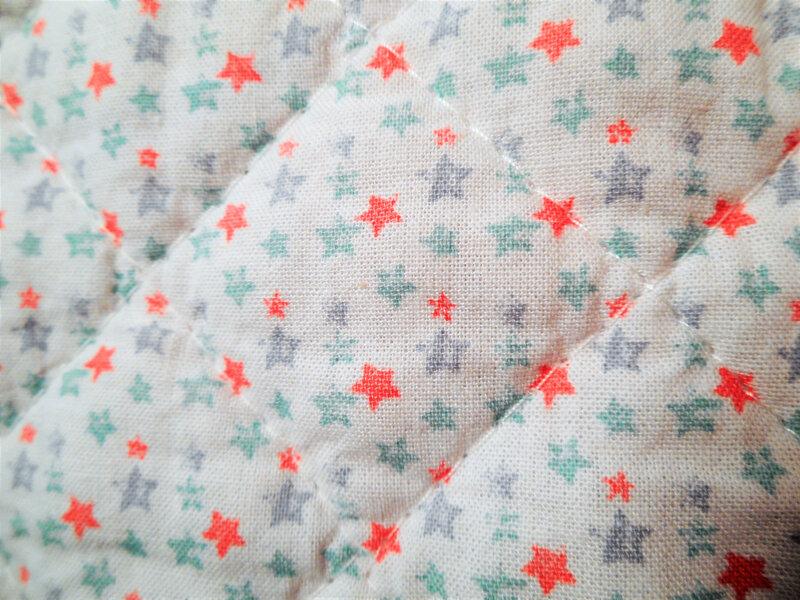 Couvertures losanges étoiles zoom étoiles