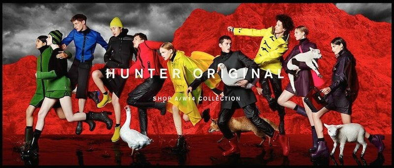 hunter boots 1