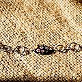 Bracelet tout en finesse...