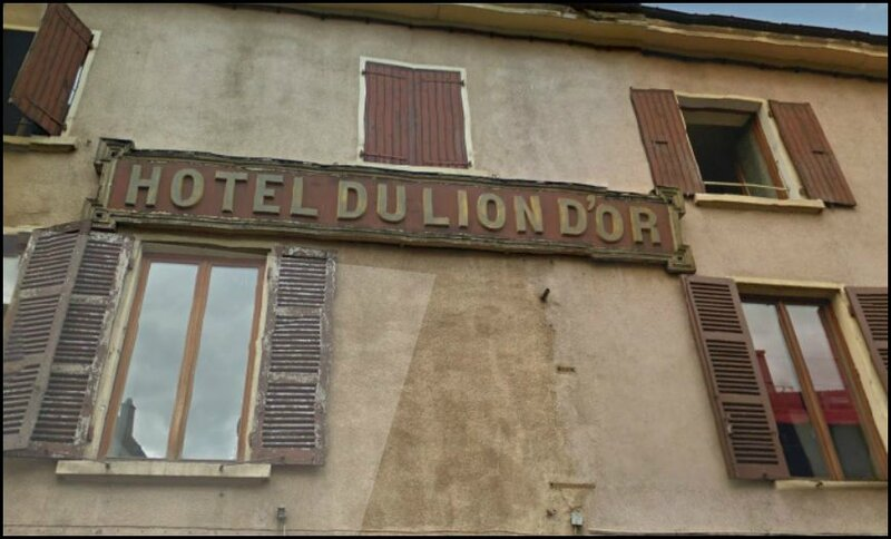 facade lion d'or