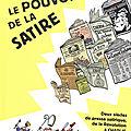 Le pouvoir de la satire, fabrice erre, terreur graphique, éd dargaud, 70 p.