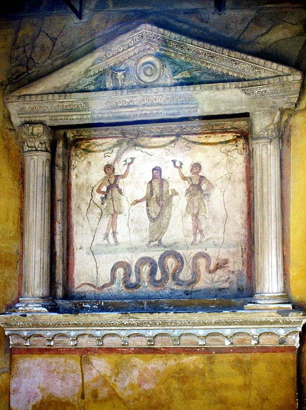 la maison des Vettii à Pompéi