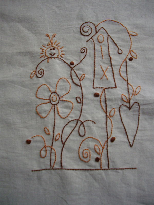 Première broderie free cinderberry stiches