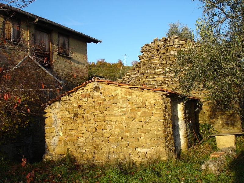 VIEILLE RUINE CAMPAGNE ITALIENNE