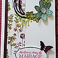 Pour un mariage !