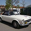 MERCEDES 230 SL cabriolet Châtenois (1)
