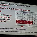 036 Prévisions travaux Meaux-La Ferté Milon (18 au 29-11-2013)