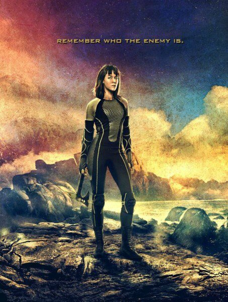 Johanna Catching Fire movie poster