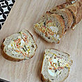 ...baguette surprise au saumon fumé... (apéro, picnic)