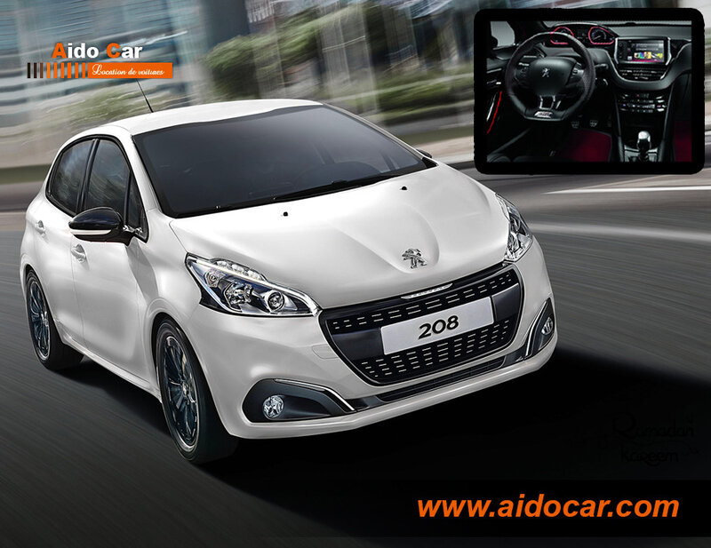 location-peugeot-208-casablanca