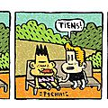 Strip 134 / bill et bobby / feu
