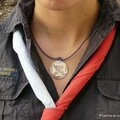 Collier médaille Guide SUF, Scout de France