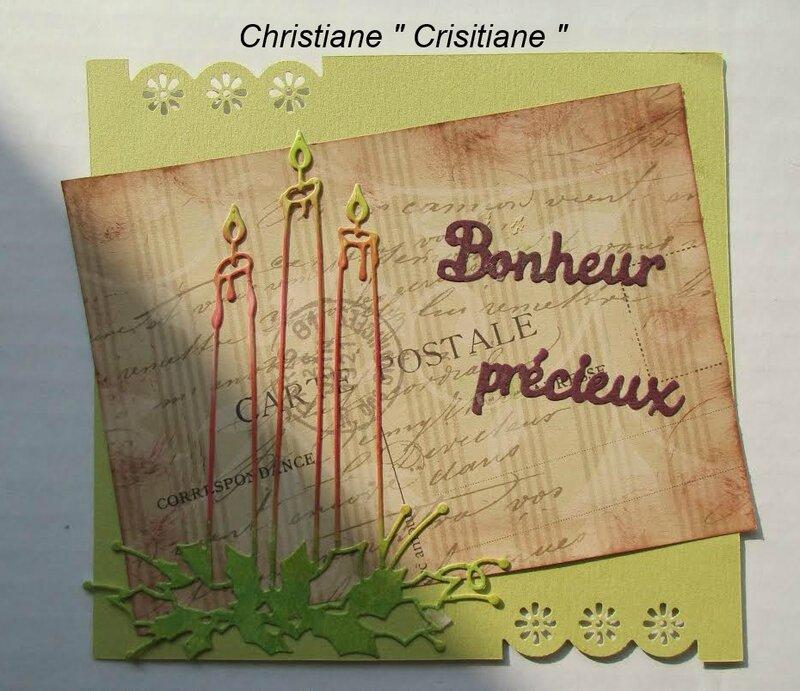 CHRISTIANE CRISITIANE