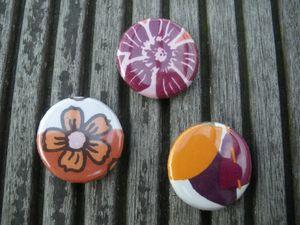 Badges tissu (4)