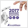 Incuballiance • rapport d'activité 2017