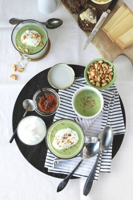soupe de salade poudre de bacon 000003 LE MIAM MIAM BLOG