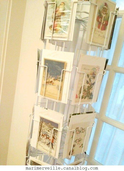 Collection de cartes de Noël anciennes - rétro - Marimerveille