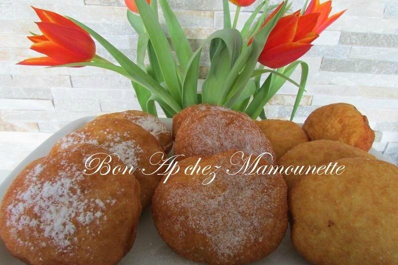beignets farine et polenta à la pomme du verger 025