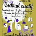Art and fashion cocktail creatif in montmartre, galerie 3f
