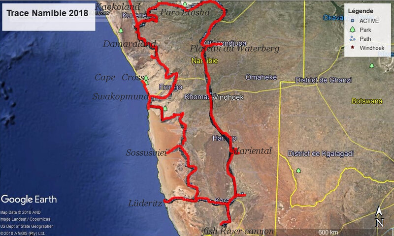 namibie trace