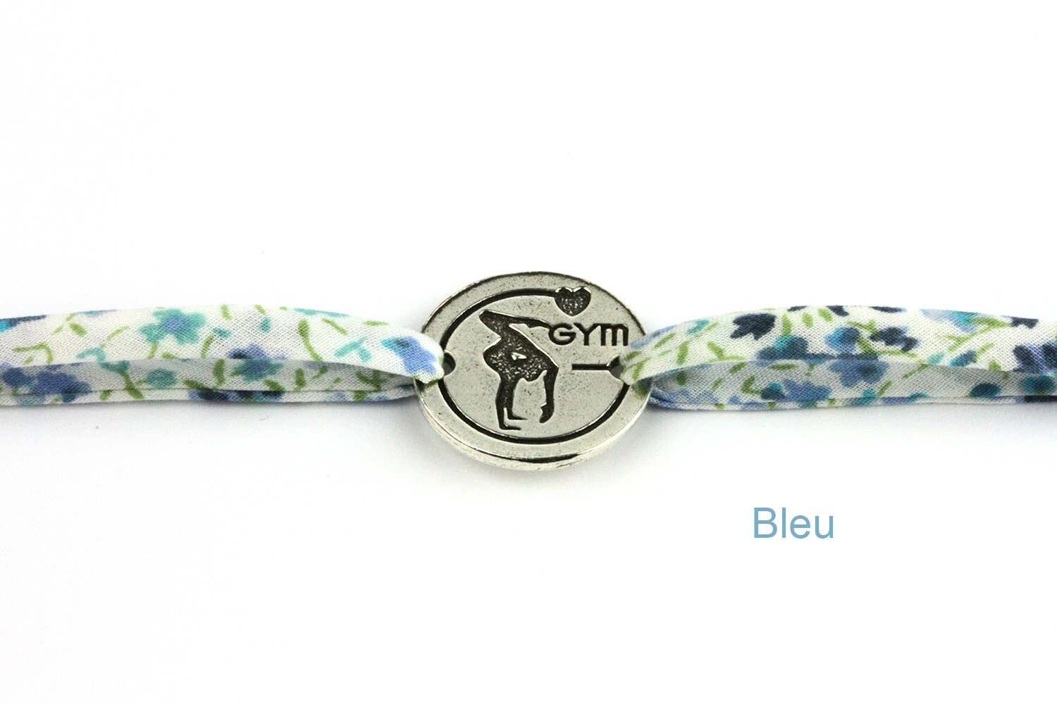 bracelet liberty gym bleu