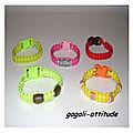Bracelets macramé multicolore